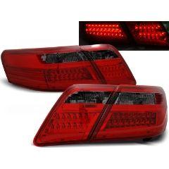 Focos / Pilotos traseros de LED Toyota Camry 6 Xv40 06-09 Rojo Ahumado Led