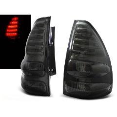 Focos / Pilotos traseros de LED Toyota Land Cruiser 120 03-09 Ahumado Led