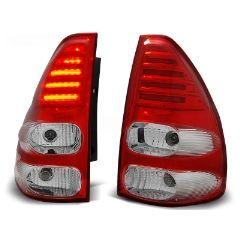 Focos / Pilotos traseros de LED Toyota Land Cruiser 120 03-09 Rojo/blanco Led