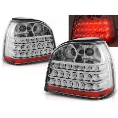 Focos / Pilotos traseros de LED VW Volkswagen Golf 3 09.91-08.97 Cromado Led