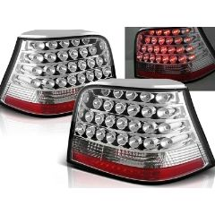 Focos / Pilotos traseros de LED VW Volkswagen Golf 4 09.97-09.03 Cromado Led