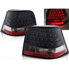 Focos / Pilotos traseros de LED VW Volkswagen Golf 4 09.97-09.03 Negro Led