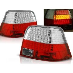 Focos / Pilotos traseros de LED VW Volkswagen Golf 4 09.97-09.03 Rojo/blanco Led