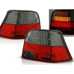 Focos / Pilotos traseros de LED VW Volkswagen Golf 4 09.97-09.03 Rojo Ahumado Led