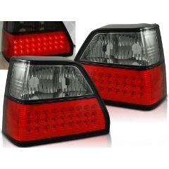 Focos / Pilotos traseros de LED VW Volkswagen Golf 2 08.83-08.91 Rojo Ahumado Led