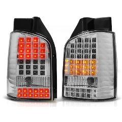 Focos / Pilotos traseros de LED VW Volkswagen T5 04.03-09 Cromado Led