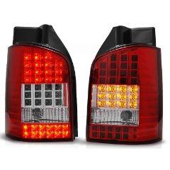 Focos / Pilotos traseros de LED VW Volkswagen T5 04.03-09 Rojo/blanco Led