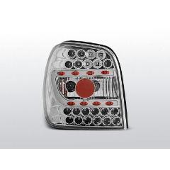 Focos / Pilotos traseros de LED VW Volkswagen Polo 6n 10.94-09.99 Cromado Led