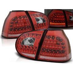 Focos / Pilotos traseros de LED VW Volkswagen Golf 5 10.03-09 Rojo/blanco Led