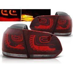 Focos / Pilotos traseros de LED VW Volkswagen Golf 6 10.08-12 Rojo/blanco Led