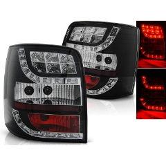 Focos / Pilotos traseros de LED VW Volkswagen Passat B5 96-00 Variant Negro Led