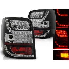 Focos / Pilotos traseros de LED VW Volkswagen Passat B5 96-00 Variant Negro Intermitente Led