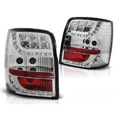 Focos / Pilotos traseros de LED VW Volkswagen Passat 3bg 00-04 Variant Cromado Led