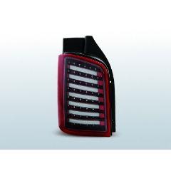 Focos / Pilotos traseros de LED VW Volkswagen T5 04.03-09 / 10-15 Rojo/blanco Led