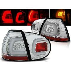 Focos / Pilotos traseros de LED VW Volkswagen Golf 5 10.03-09 Cromado Led Bar