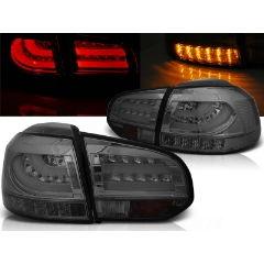 Focos / Pilotos traseros de LED VW Volkswagen Golf 6 10.08-12 Ahumado Led Bar