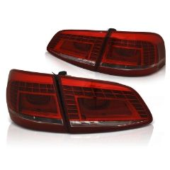 Focos / Pilotos traseros de LED VW Volkswagen Passat B7 Variant 10.10-10.14 Rojos White Led