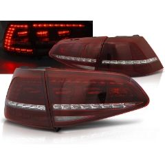 Focos / Pilotos traseros de LED VW Volkswagen Golf 7 13-17 Rojo Blanco Intermitentes Dinamicos R Look