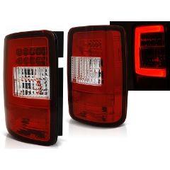 Focos / Pilotos traseros de LED VW Volkswagen Caddy 03-03.14 Rojo/blanco Led Bar