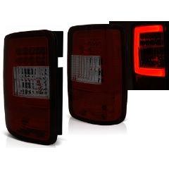 Focos / Pilotos traseros de LED VW Volkswagen Caddy 03-03.14 Rojo Ahumado Led Bar