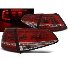 Focos / Pilotos traseros de LED VW Volkswagen Golf 7 13- Rojo/blanco Led GTI Look