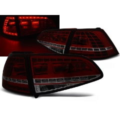 Focos / Pilotos traseros de LED VW Volkswagen Golf 7 13- Rojo Ahumado Led GTI Look