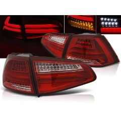 Focos / Pilotos traseros de LED VW Volkswagen Golf 7 13- Rojo/blanco Led Bar