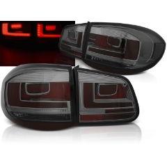 Focos / Pilotos traseros de LED VW Volkswagen Tiguan 07-07.11 Ahumado Led Bar