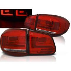 Focos / Pilotos traseros de LED VW Volkswagen Tiguan 07-07.11 Rojo Blanco Led Bar