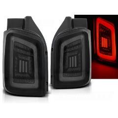 Focos / Pilotos traseros de LED VW Volkswagen T5 04.03-09 / 10-15 Ahumado Negro Blanco Led Con Intermitentes Dinamicos