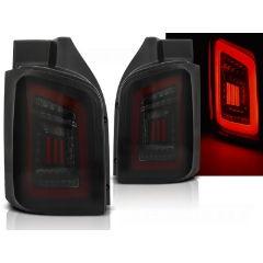 Focos / Pilotos traseros de LED VW Volkswagen T5 04.03-09 / 10-15 Ahumado Negro Rojo Led Con Intermitentes Dinamicos