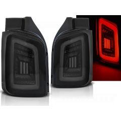 Focos / Pilotos traseros de LED VW Volkswagen T5 04.03-09 / 10-15 Ahumado Negro Blanco Led Transporter Con Intermitentes Dinamicos