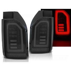 Focos / Pilotos traseros de LED VW Volkswagen T6 2015- Ahumado Negro Blanco Led Con Intermitentes Dinamicos