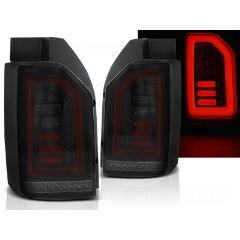 Focos / Pilotos traseros de LED VW Volkswagen T6 2015- Ahumado Negro Rojo Led Con Intermitentes Dinamicos