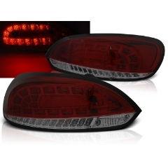 Focos / Pilotos traseros de LED VW Volkswagen Scirocco Iii 08-04.14 Rojo Ahumado Led