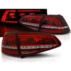 Focos / Pilotos traseros de LED VW Volkswagen Golf 7 13-17 Rojo Blanco Led GTI Look Intermitentes Dinamicos