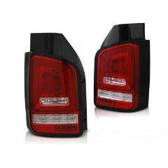 Focos / Pilotos traseros de LED VW Volkswagen T5 04.03-09 Rojos White Full Led-intermitente Dinamico Indicator