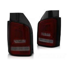 Focos / Pilotos traseros de LED VW Volkswagen T5 04.03-09 Rojos ahumados Full Led-intermitente Dinamico Indicator