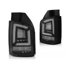 Focos / Pilotos traseros de LED VW Volkswagen T5 04.03-09 Negros Full Led-intermitente Dinamico Indicator