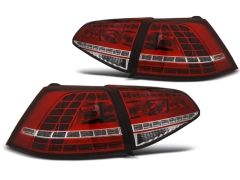 Focos / Pilotos traseros de LED VW Volkswagen Golf 7 13-17 Rojos White Led GTI Look-intermitente Dinamico