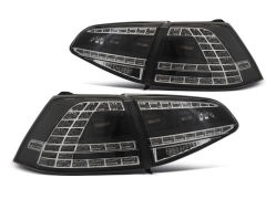 Focos / Pilotos traseros de LED VW Volkswagen Golf 7 13-17 Negros Led GTI Look-intermitente Dinamico