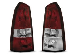 Focos / Pilotos traseros de LED Ford Focus 1 10.98-10.04 Tournier Rojo/blanco
