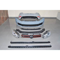 Kit De Carroceria Volkswagen Golf 6 2009-2012 look GTI ABS Faros