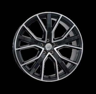 Llantas replica WSP Italy Audi 8.5x21 W571 ALICUDI ET30 5x112 66.6 Glossy Blac Pol BK5FP +m
