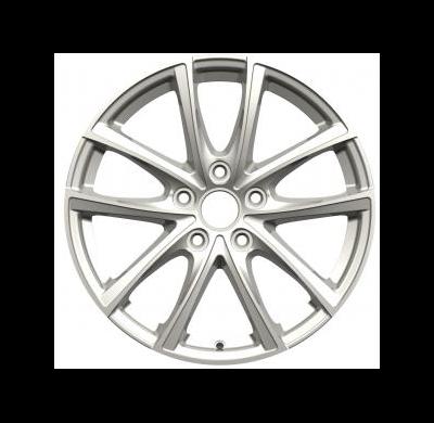 Llantas replica WSP Italy Peugeot R7x17 WD001 PRASLIN ET44 5x108 65.1 Silver & m