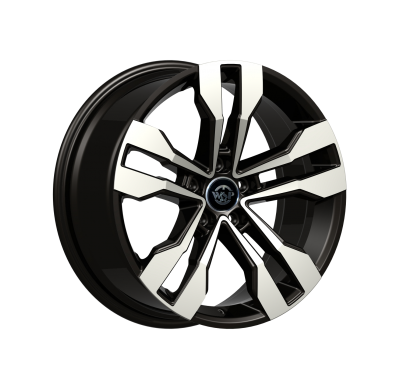 Llantas replica WSP Italy Peugeot R7.5x17 WD008 TENERIFE ET44 5x108 65.1 negras brillante Pol &m