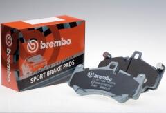 Kit pastillas de freno deportivas delanteras Sport Brembo HP2000 DODGE VIPER Convertible 8.0 RT10 299Kw 10/91 - 09/97