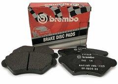 Kit pastillas de freno deportivas traseras Sport Brembo HP2000 SAAB 9-5 Estate (YS3E) 3.0 V6t 147 Kw 10/98 - 12/09