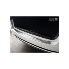 Protector Parachoques en Acero Inoxidable Audi A4 B9 Avant 2015- ribs