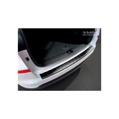 Protector Parachoques en Acero Inoxidable Hyundai Tucson Iii Restyling 2018- ribs black Line